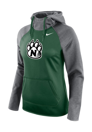 Northwest Missouri State Bearcats Womens Green All Time Hoodie