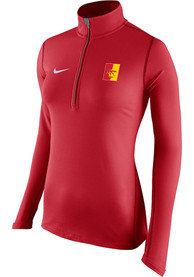 Pitt State Gorillas Womens Nike Tailgate Element 1/4 Zip - Red