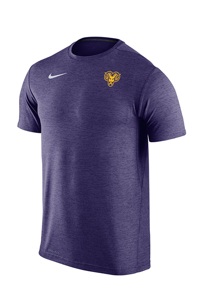 Nike West Chester Golden Rams Purple Dri-Fit Touch Short Sleeve T Shirt - Image 1