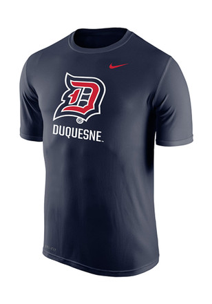 Nike Duquesne Mens Navy Blue Legend Performance Tee