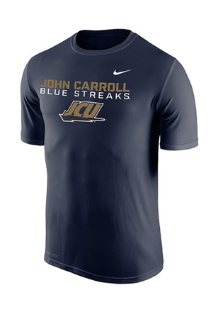Nike John Carroll Mens Navy Blue Legend Performance Tee