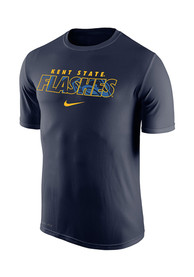 Nike Kent State Golden Flashes Navy Blue Legend Tee