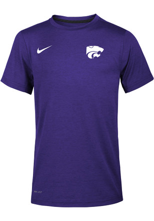 Nike K-State Wildcats Kids Purple Staff T-Shirt