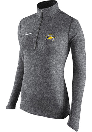 Nike Northern Kentucky Norse Womens Element Grey 1/4 Zip Pullover