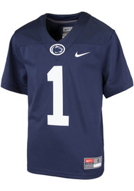 Penn State Nittany Lions Youth Nike Replica Football Jersey - Navy Blue