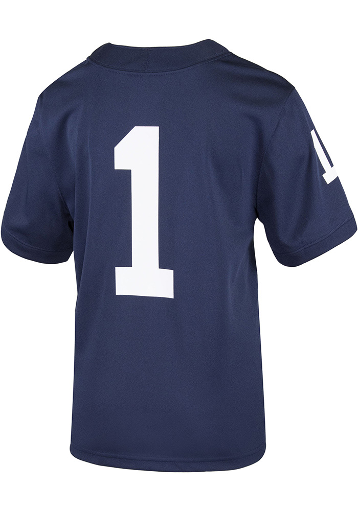 Nike Penn State Nittany Lions Toddler Navy Blue Replica Jersey - Image 2 81a3f886b