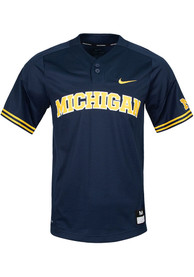 Nike Michigan Wolverines Navy Blue Replica Jersey