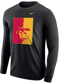 Pitt State Gorillas Nike Big Logo T Shirt - Black