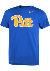 Pitt Panthers Youth Nike Primary Logo T-Shirt - Blue
