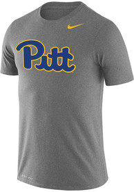 Pitt Panthers Nike Legend T Shirt - Grey