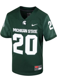 Michigan State Spartans Youth Nike Sideline Replica Football Jersey - Green
