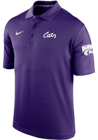 K-State Wildcats Nike Cats Script Polo Shirt - Purple
