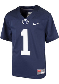 Penn State Nittany Lions Toddler Nike Sideline Replica Football Jersey - Navy Blue