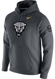 Pitt Panthers Nike Forged The Future Club Fleece Hooded Sweatshirt - Grey