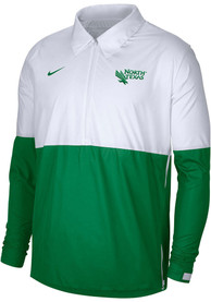 Nike North Texas Mean Green White Coach Light Weight Jacket