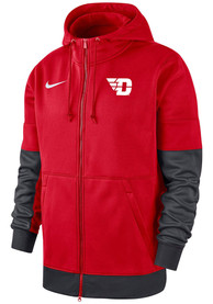 Nike Dayton Flyers Red Therma Hoodie Zip