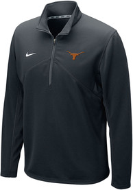 Texas Longhorns Nike Dri-FIT Training 1/4 Zip Pullover - Black