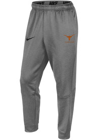 Texas Longhorns Nike Therma Tapered Pants - Grey