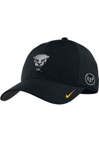 Pitt Panthers Nike Forged The Future Steel Wool Swoosh Adjustable Hat - Black