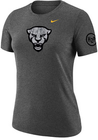 Pitt Panthers Womens Nike Forged The Future Alt T-Shirt - Grey