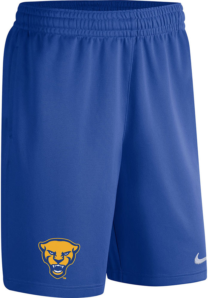 Pitt Panthers Nike Spotlight Basketball Shorts - Blue