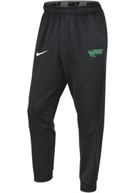 North Texas Mean Green Nike Therma Tapered Pants - Grey