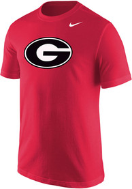 Georgia Bulldogs Nike Core Logo T Shirt - Red