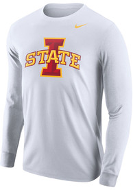 Iowa State Cyclones Nike Core Logo T Shirt - White