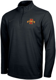 Iowa State Cyclones Nike Intensity 1/4 Zip Pullover - Black
