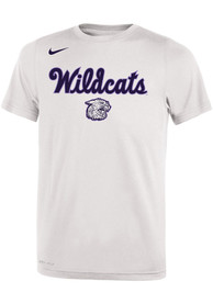 Nike K-State Wildcats Youth White 2019 Basketball T-Shirt