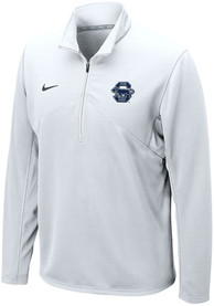 Penn State Nittany Lions Nike Training 1/4 Zip Pullover - White