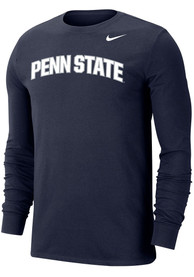 Penn State Nittany Lions Nike Dri-FIT Arch Name T Shirt - Navy Blue