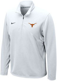 Texas Longhorns Nike Dri-FIT Training 1/4 Zip Pullover - White