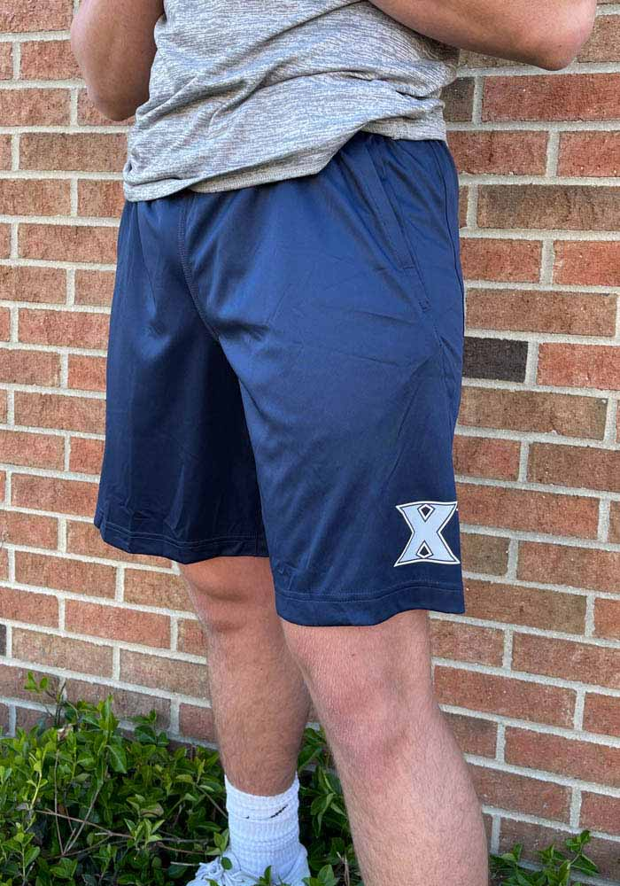 Nike Xavier Musketeers Mens Navy Blue Fly 2.0 Shorts - Image 2