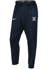 Xavier Musketeers Nike Therma Tapered Pants - Navy Blue
