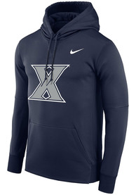 Xavier Musketeers Nike Therma Essential Hood - Navy Blue