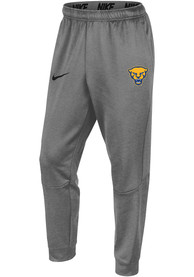 Pitt Panthers Nike Therma Tapered Pants - Grey