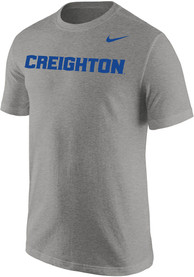 Creighton Bluejays Nike Wordmark Core T Shirt - White