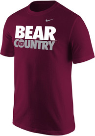 Nike Missouri State Bears Maroon Bear Country Tee