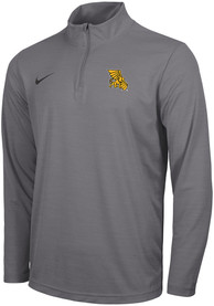 Missouri Western Griffons Nike Intensity Logo 1/4 Zip Pullover - Grey