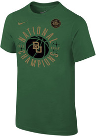 Baylor Bears Youth Nike 2021 National Champions T-Shirt - Green