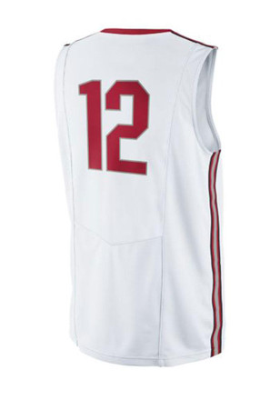 Nike The Ohio State University Mens White Replica Basketball Jersey
