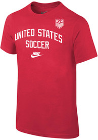Team USA Youth Nike Arch T-Shirt - Red
