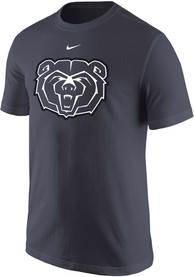 Nike Missouri State Bears Charcoal Cotton Motivation Tee