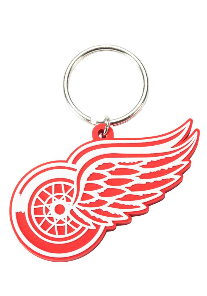 Detroit Red Wings PVC Keychain