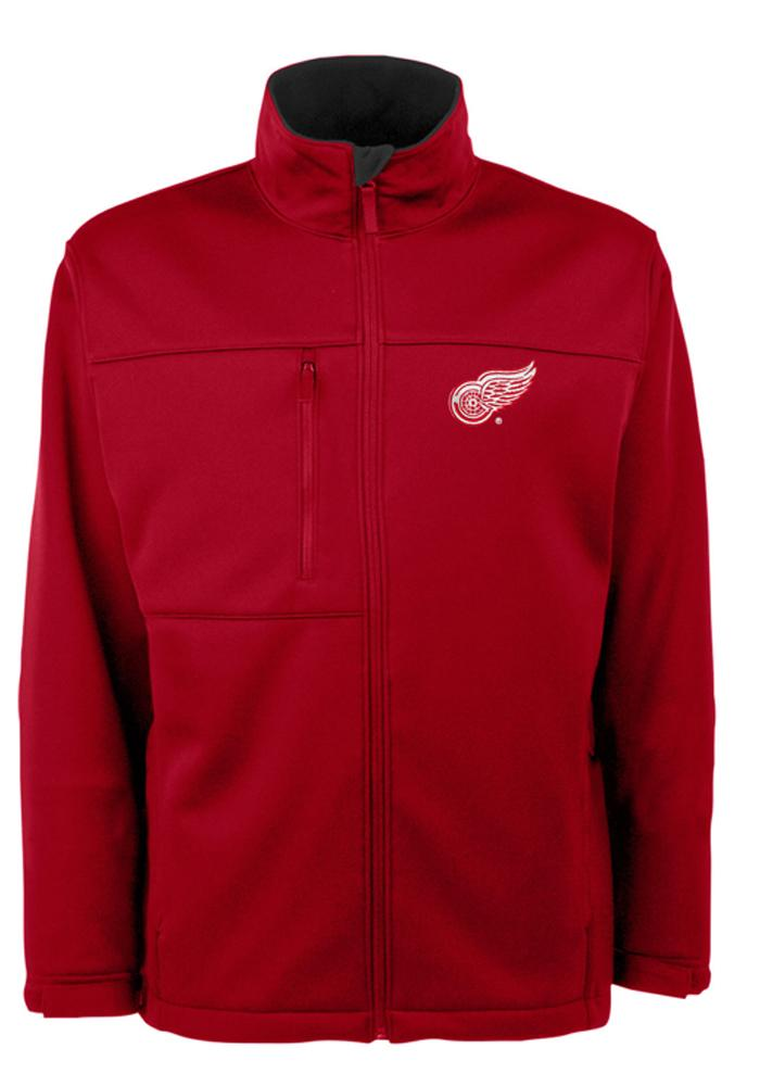 Antigua Detroit Red Wings Mens Red Traverse Medium Weight Jacket - Image 1