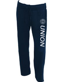 Philadelphia Union Womens Glitter Fleece Pant Sleep Pants - Navy Blue