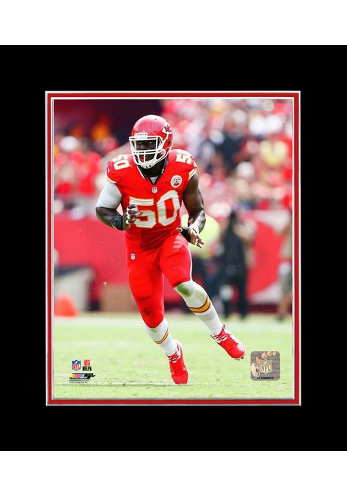 Justin Houston Kansas City Chiefs Matted Player Photo Unframed Poster - Image 1