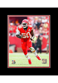 Justin Houston Kansas City Chiefs Matted Player Photo Unframed Poster