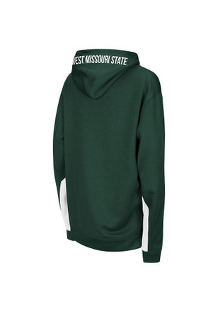 Colosseum Northwest Missouri State Bearcats Kids Green Armory Hooded Sweatshirt
